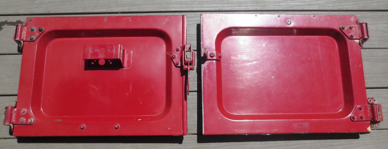 For Sale Sold Fj40 1964 Rear Barn Doors With Hinges