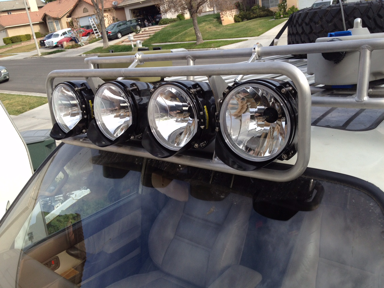 Glare Off Hood From Roof Mounted Led Bar Ih8mud Forum