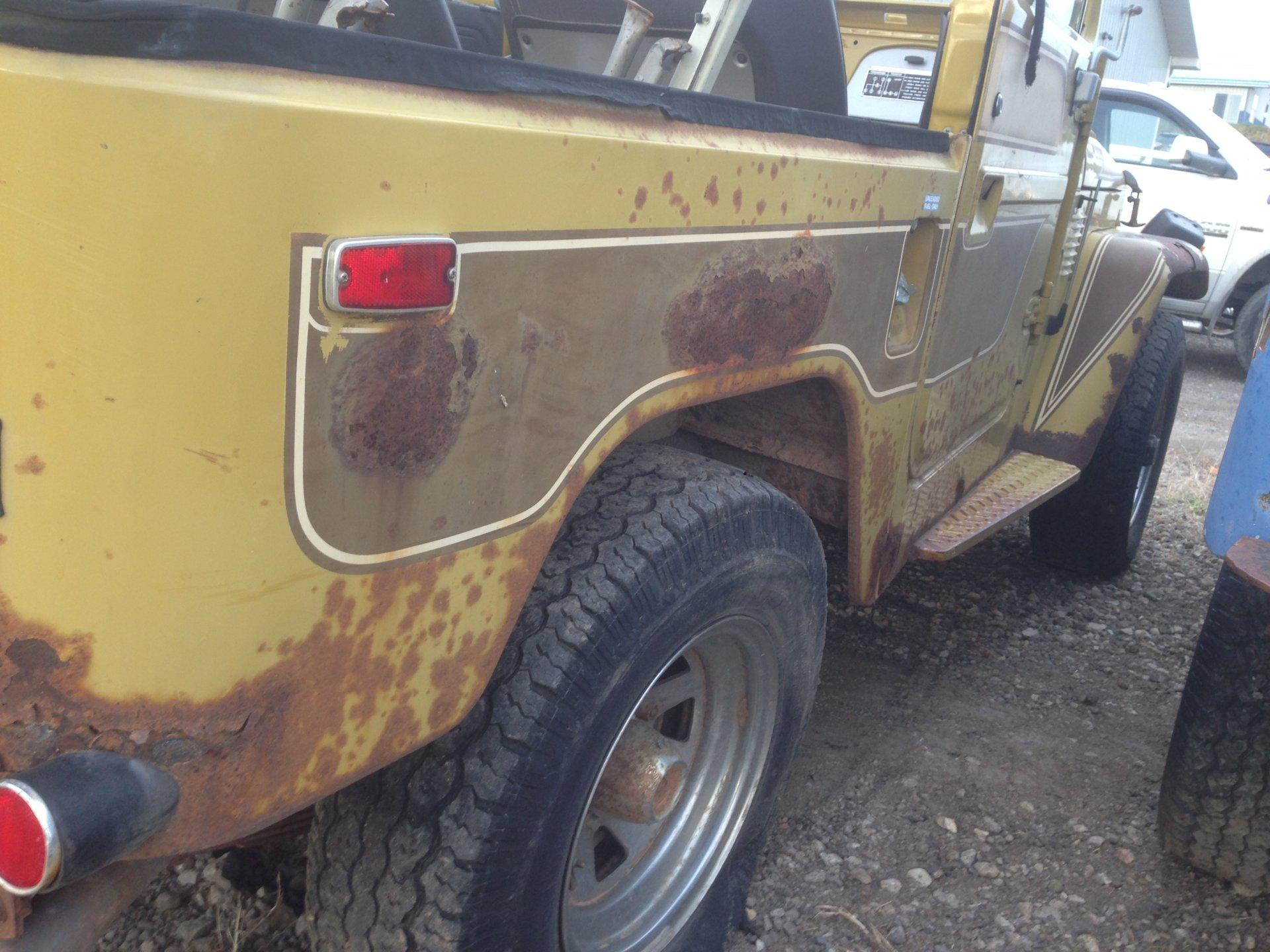 For Sale - '77 FJ40, original paint, $4000 WY | IH8MUD Forum