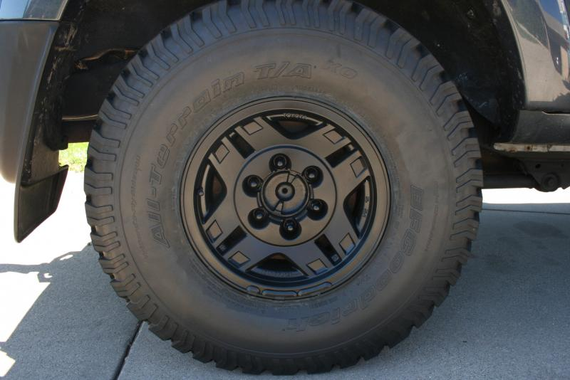 I Am Looking To Paint Flat Black My Aluminum Wheels Any Suggestion