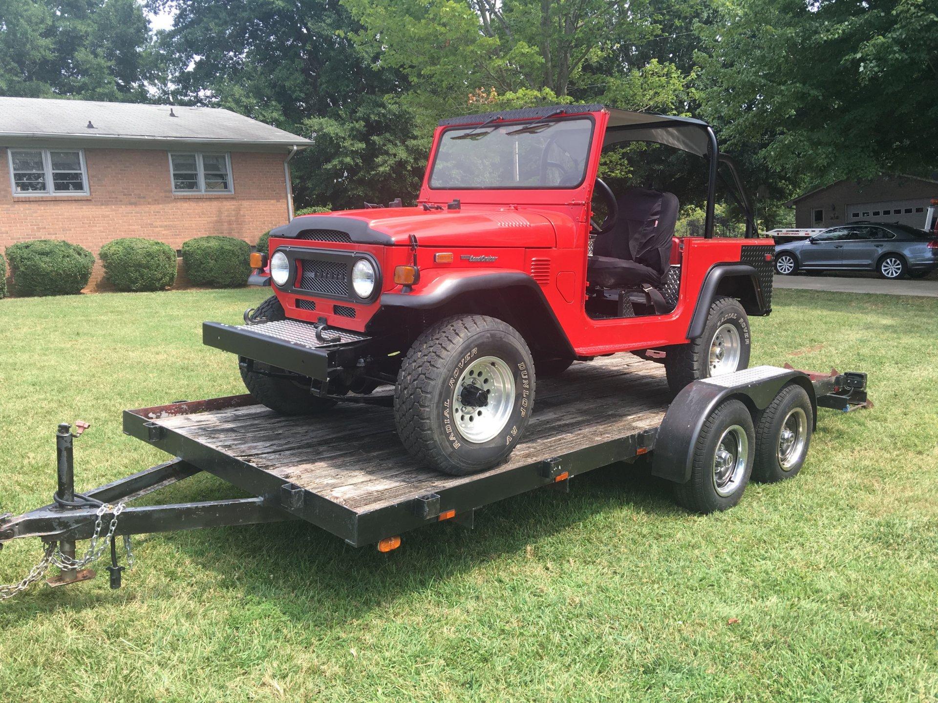 For Sale - 16\' Car Trailer Mooresville NC $1,500 | IH8MUD Forum