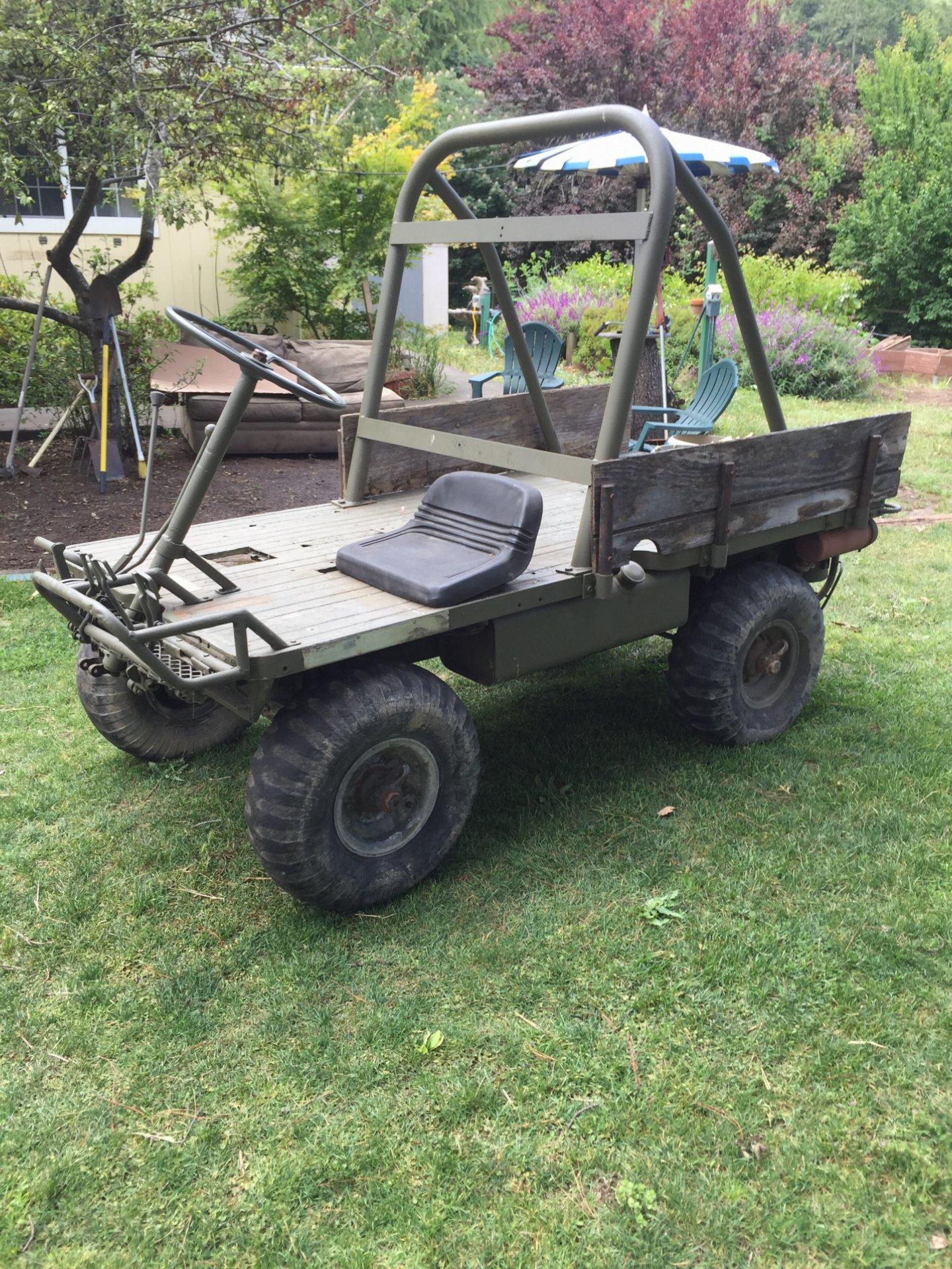 For Sale 1966 Mechanical Mule M274 Usmc Ih8mud Forum