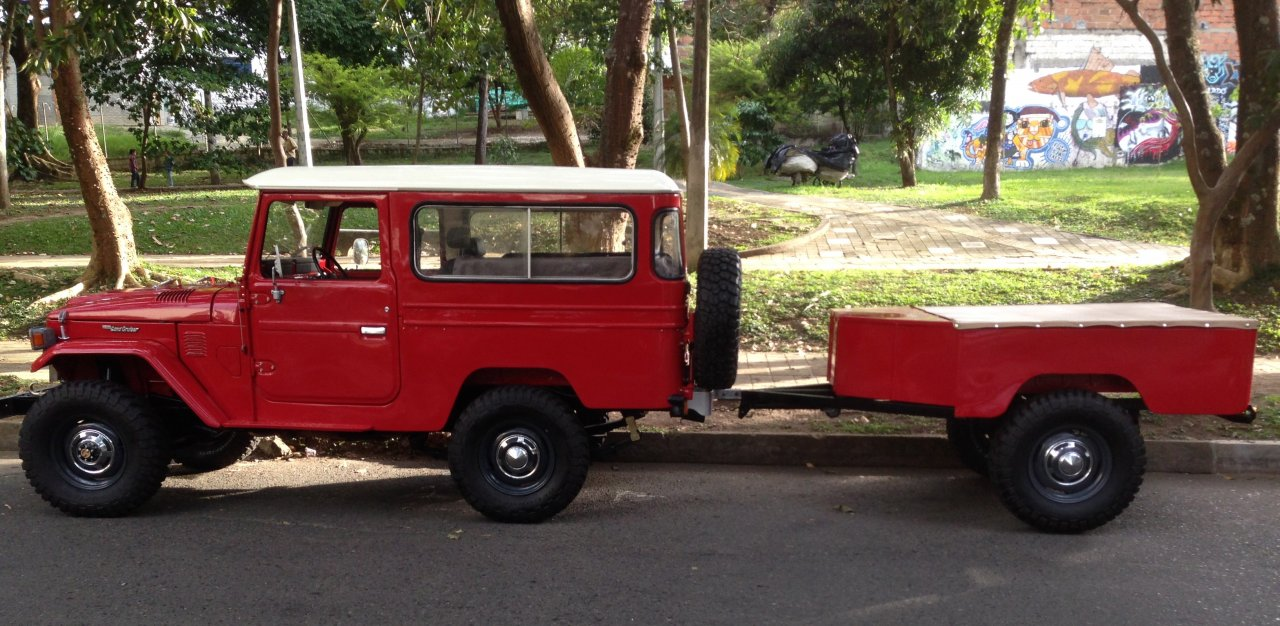 For Sale New Classic Land Cruiser Fj43 Tub Trailers For