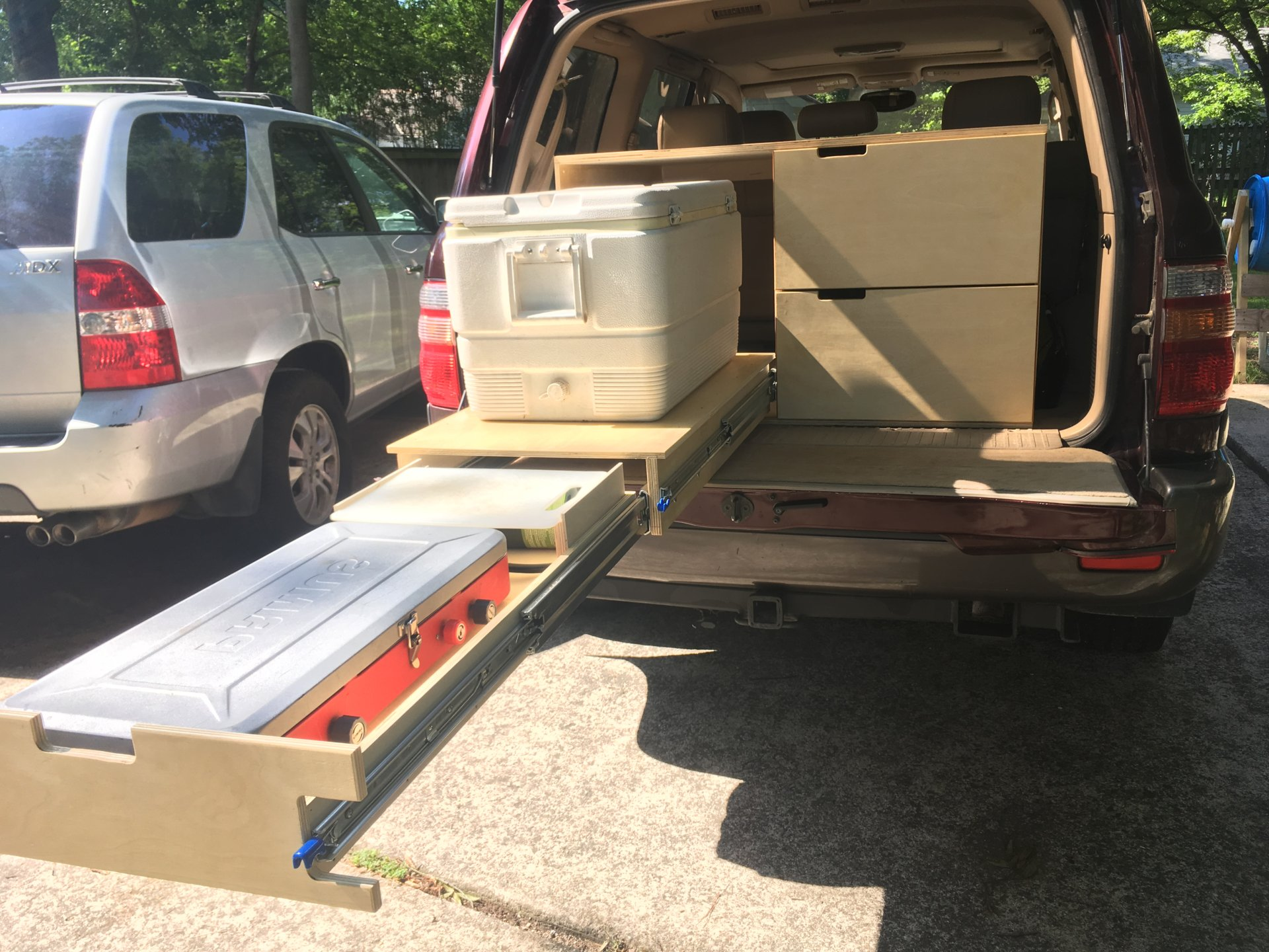 Anyone Unhappy With Camping Drawers In Their Vehicle Drawers Vs Cargo Boxes Page 2 Ih8mud Forum