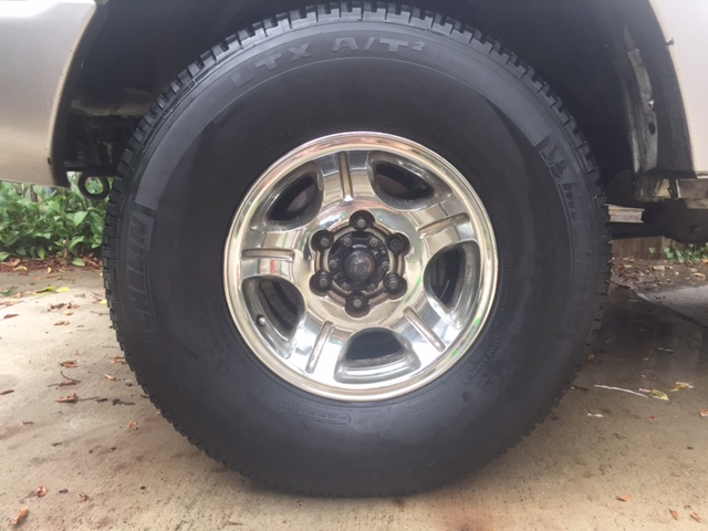 For Sale - Great Condition 5X LX450/FZJ80 Wheels + Tires
