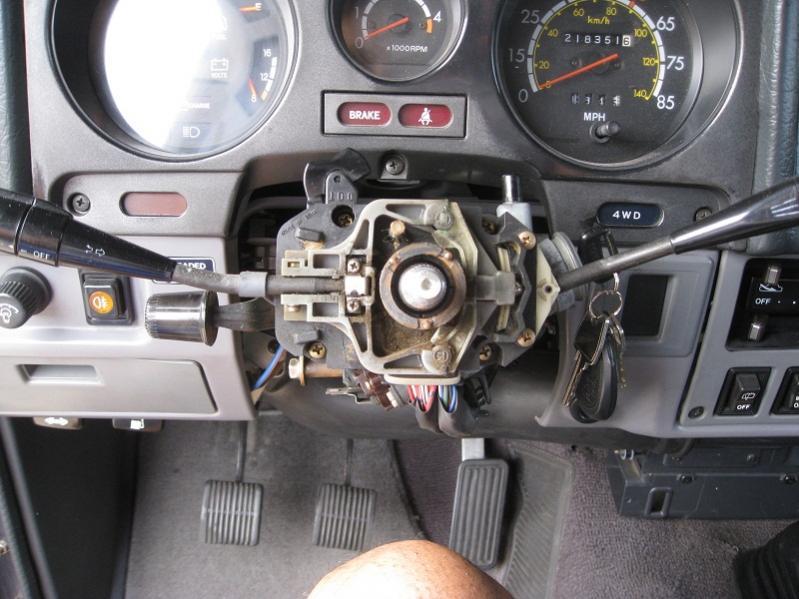 Steering Wheel Lock Removal | IH8MUD Forum