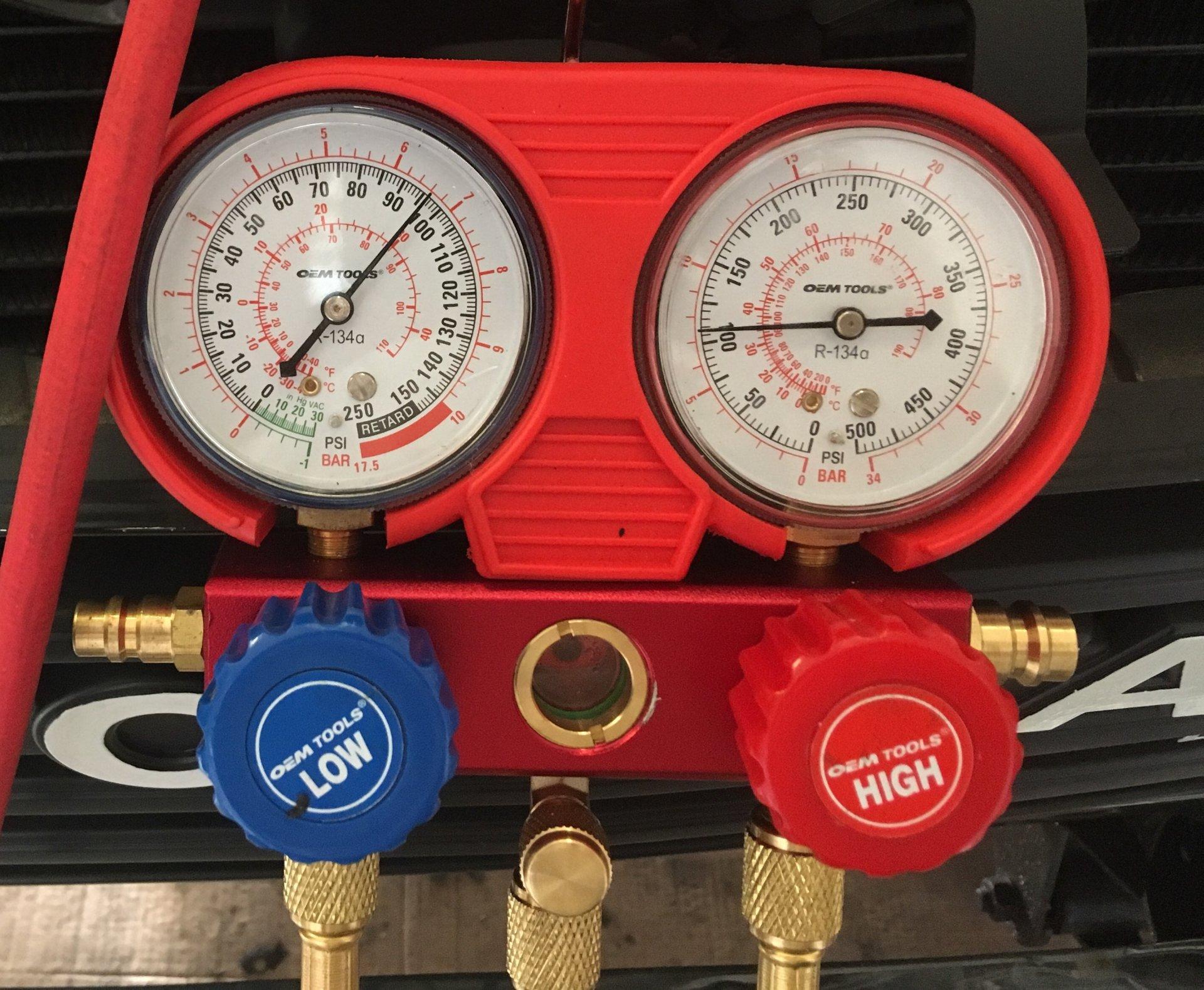 AC won't take freon | IH8MUD Forum