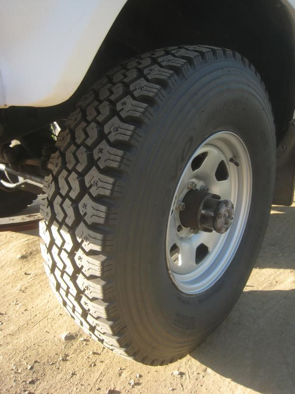Tire size for 16x8 wheels | IH8MUD Forum