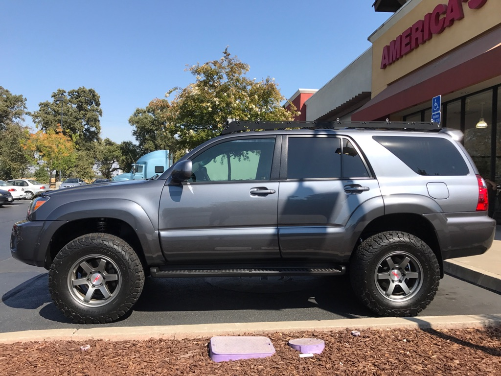 "Toyota Elk Grove >> For Sale - 17"" Gunmetal Level 8 Mk6 w/ TRD center caps | IH8MUD Forum"