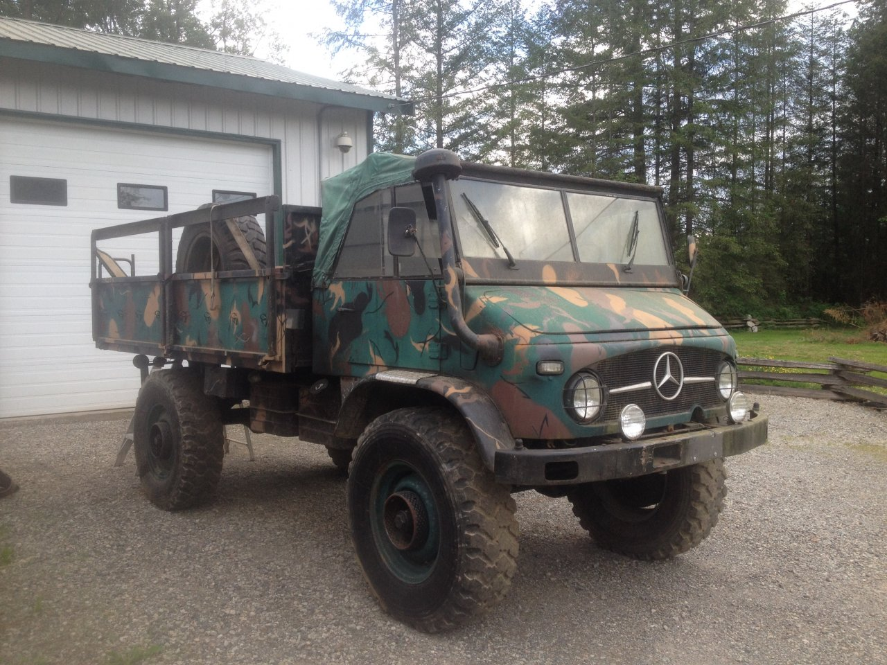For sale 1961 mercedes benz unimog 404 ih8mud forum for Mercedes benz unimog for sale