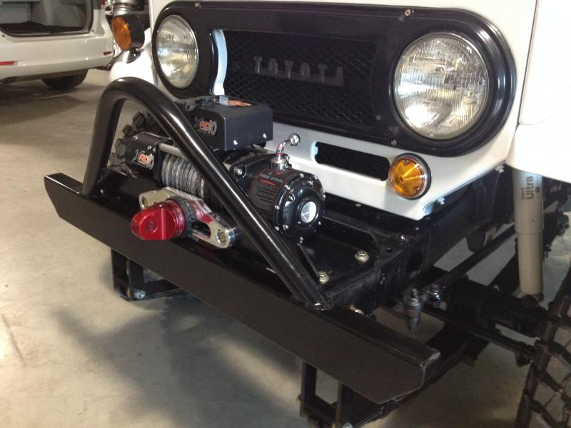Best Power Steering Conversion For A 1965 Fj40 With A Winch Up
