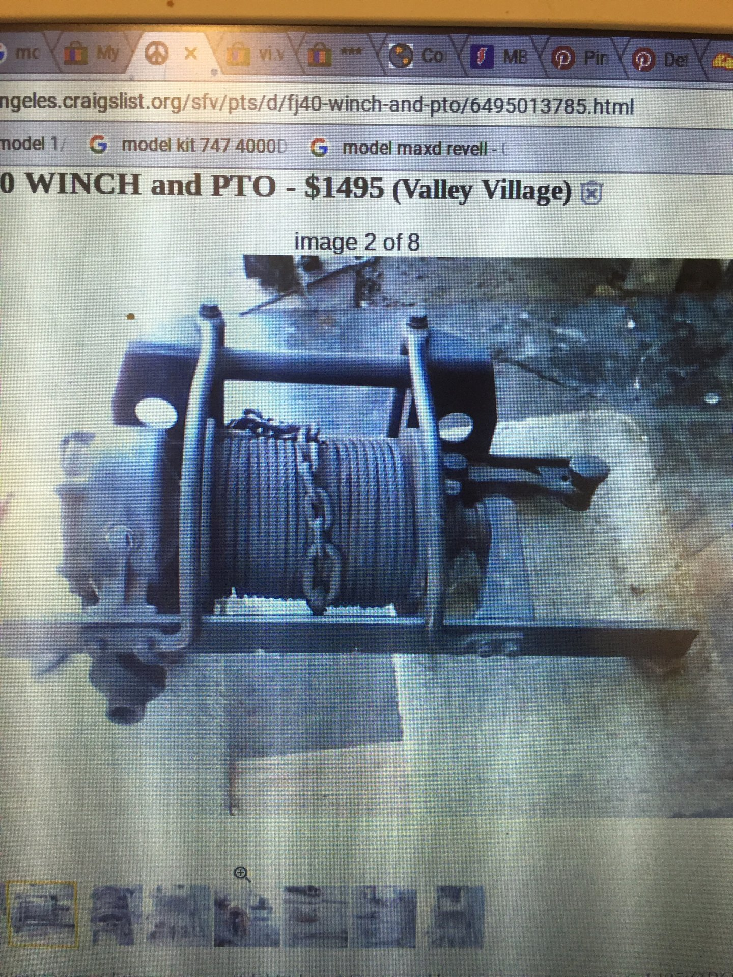 PTO Winch Advice (would it be a fair price) | IH8MUD Forum