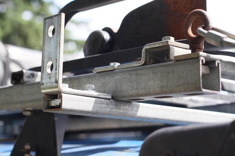 Strongest Most Versatile Roof Rack For Gutter Mount