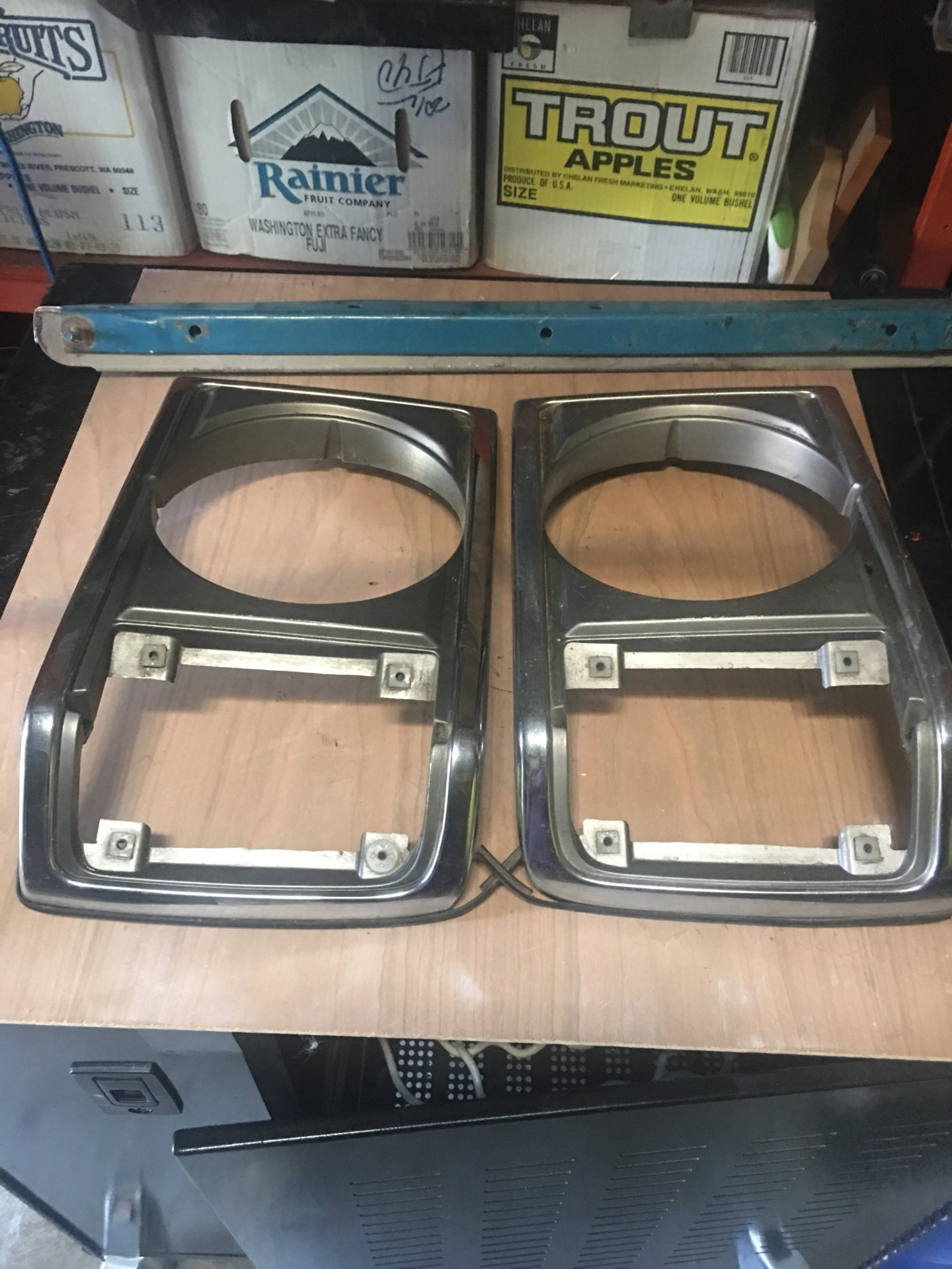 For Sale - FJ60 left and right side headlight bezel - trim cover