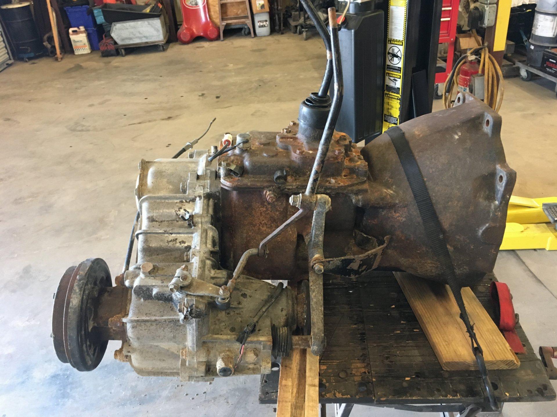 For Sale H42 4speed transmission 150$
