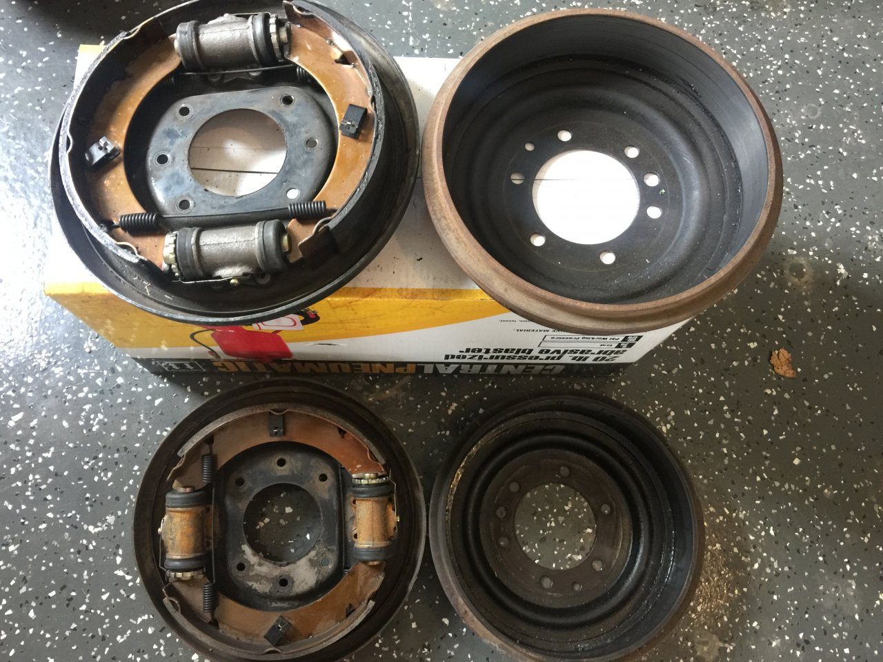 For Sale - Land Cruiser FJ40 Rear Drum Brakes from a '72 ...