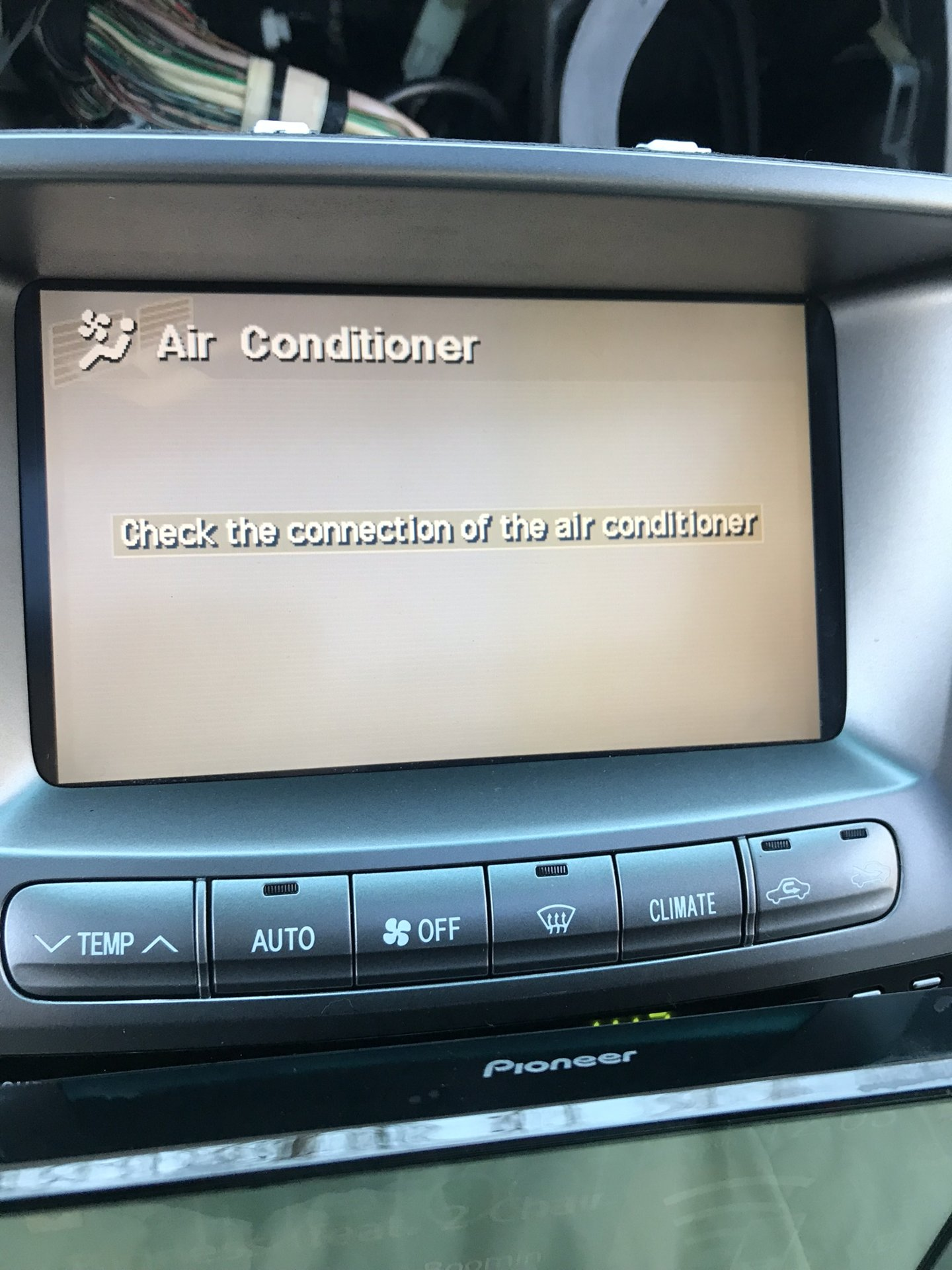 04 LC Aftermarket Head Unit w/Climate - It Can Be Done!!! | IH8MUD Forum