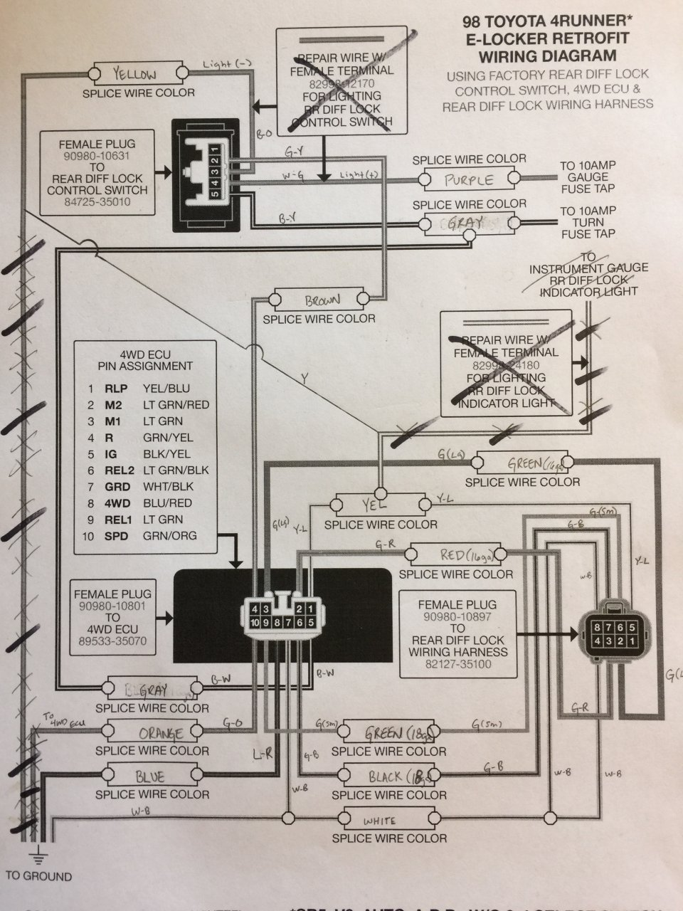 All Excited About The E Locker Then I Noticed This Back To M1 M2 Wiring Diagram Img 9204