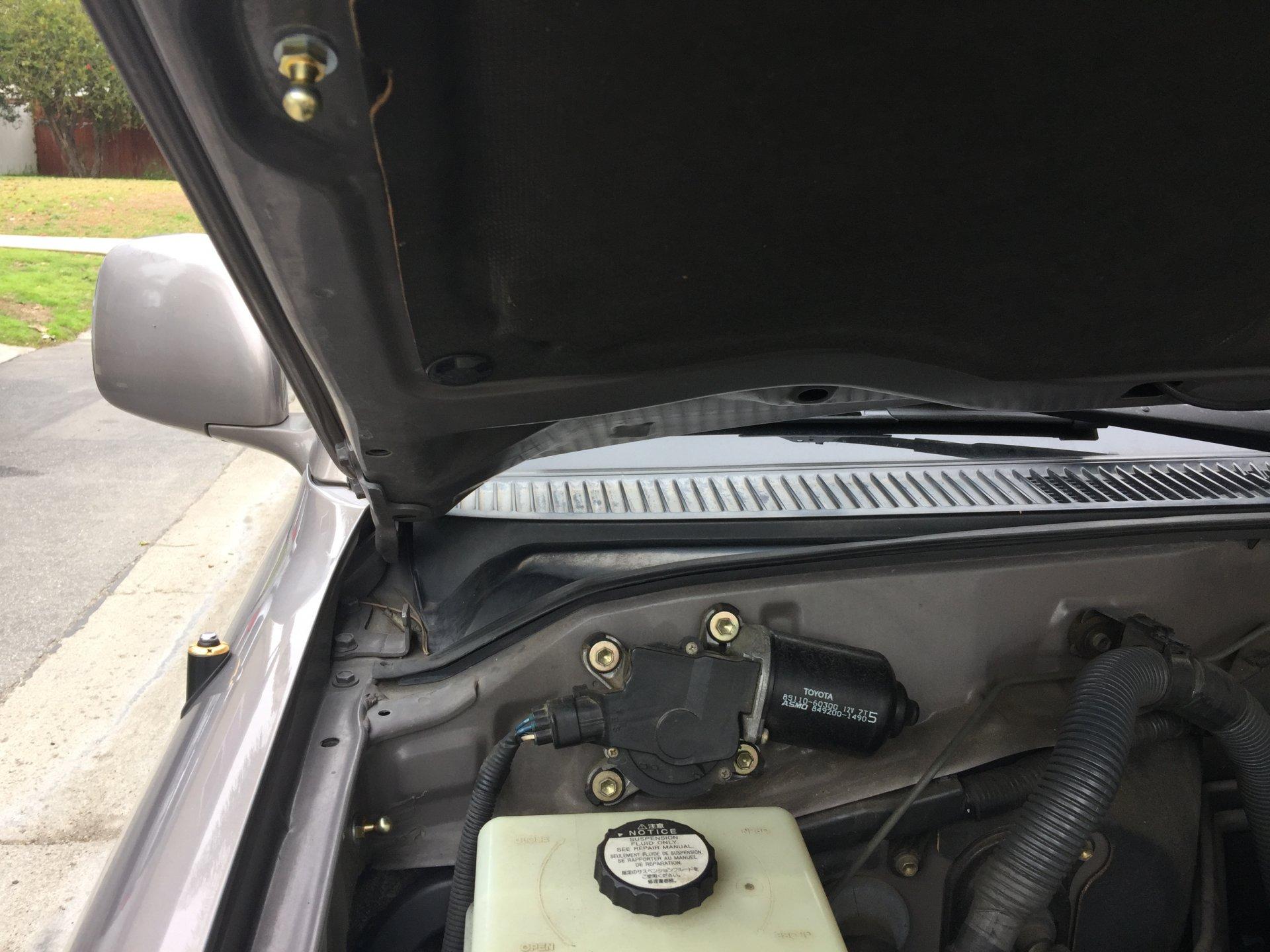 Shocks Cylinders Struts Lexus LX470 1998 To 2004 Hood Lift Supports 2 StrongArm 4361 Toyota Land Cruiser Qty