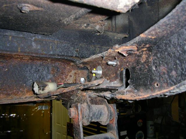 FJ40 frame repairs - today at the shop | IH8MUD Forum