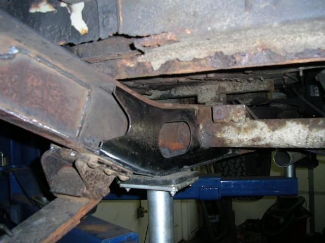 Fj40 Frame Repairs Today At The Shop Ih8mud Forum