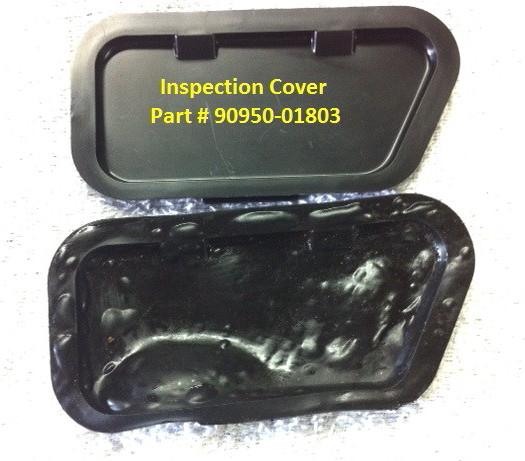 GENUINE LandCruiser VDJ76 VDJ78 VDJ79 Clutch Housing Inspection Rubber Cover