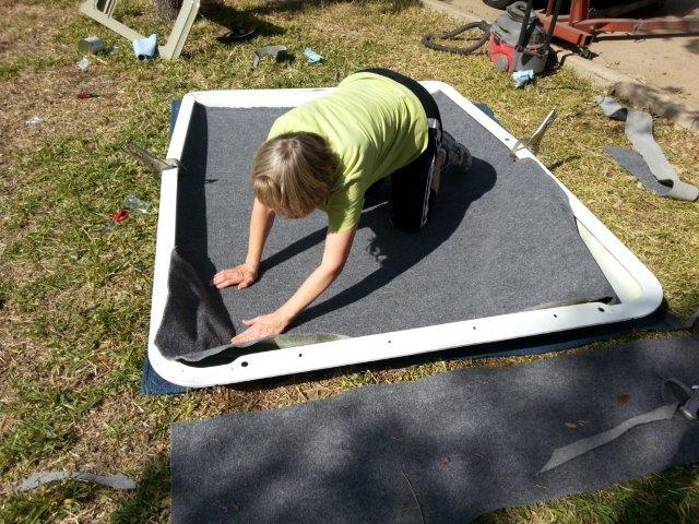 Do not use 3M Super 77 for headliner adhesive | IH8MUD Forum