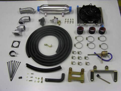 HZJ79 Trayback install, turbo, inercooler and exhaust manifold