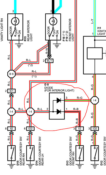 dome light diode fried ih8mud forum 3-Way Switch Light Wiring Diagram at gsmx.co