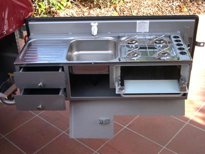 Trailer kitchens ih8mud forum for Camper trailer kitchen designs