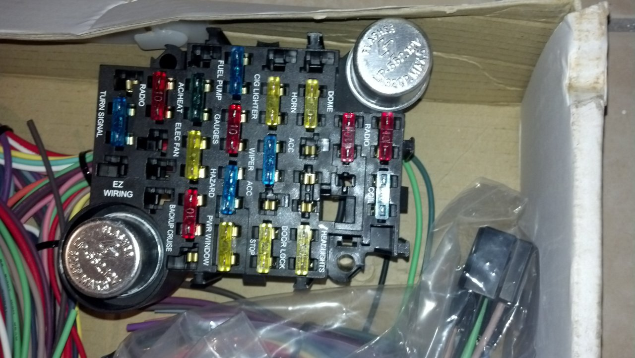 Ez Wiring Harnesses Solutions Harness Diagram 20 For 150 Shipped Never Taken Out Of Box