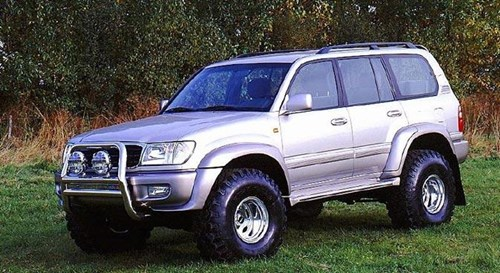 lifted landcruiser vx 100  37 s with 2 5 inch lift 98 lc 100 series ih8mud forum