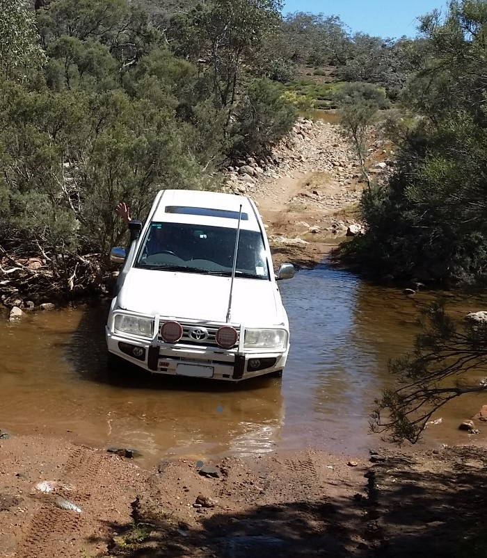 Landcruiser - barely challenged - Arkaroola.jpg