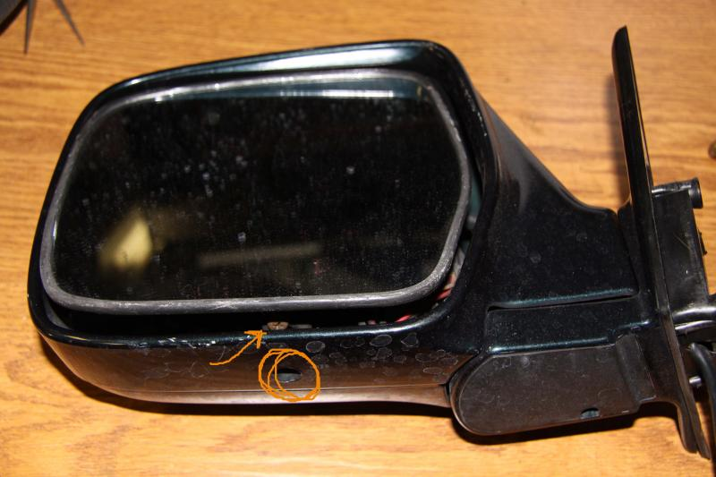 Driver S Side View Mirror Housing Loose Ih8mud Forum