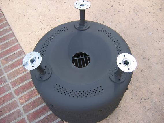 Stylish Fire PIT 44 Gallon Drum EBay Fire Pit Pinterest - Washing Machine Fire Pit Ebay Attractive Ebay Fire Pit In Washing