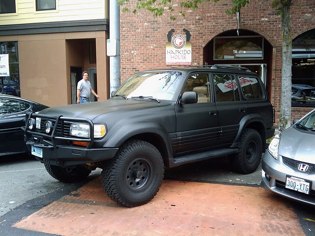 Matte Black Truck >> 1994 Cruiser Painted Flat Black | IH8MUD Forum