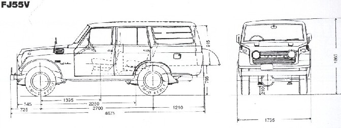 Toyota Dimensions Amp Drafts Ih8mud Forum