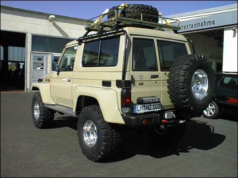 Roof Rack Cage For Bj73 Ih8mud Forum