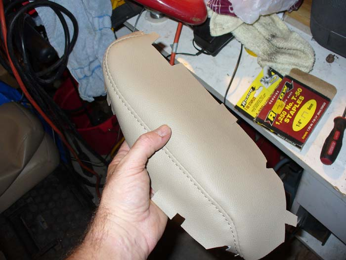 Leather Instal arm and Headrest 015.JPG