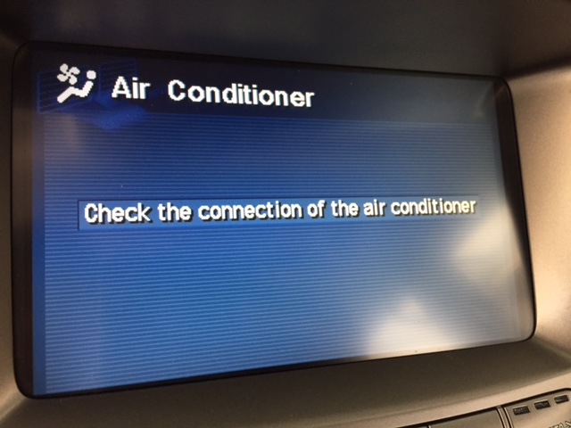 the external system is not connected/check the connection of AC ...
