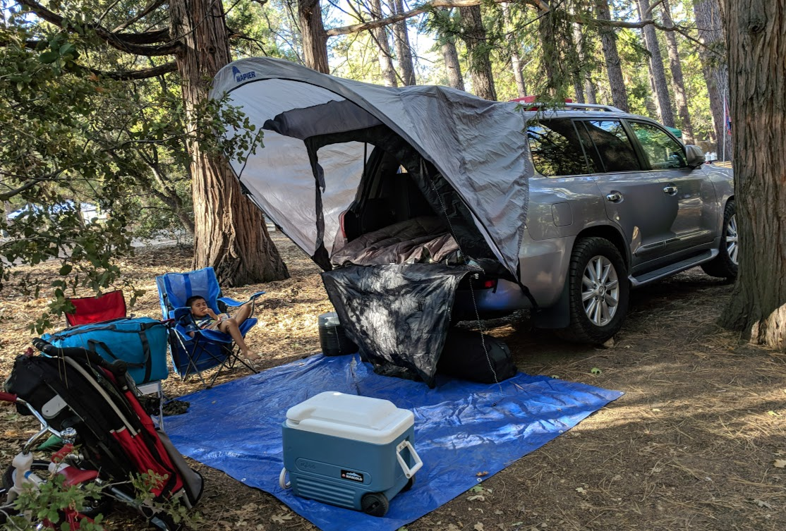 Car Camping, Rear Hatch Tent and Window Screen | IH8MUD Forum