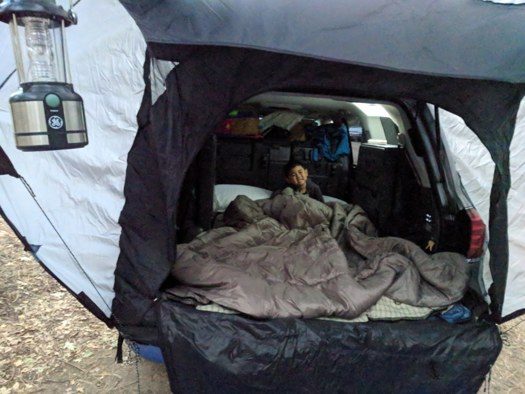 Car Camping, Rear Hatch Tent and Window Screen   IH8MUD Forum