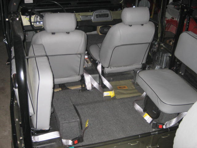 Front Seat Reupholster Cost | IH8MUD Forum