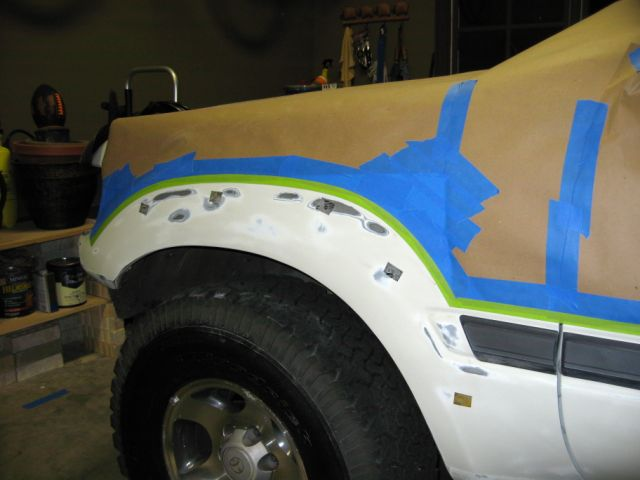 Masked, Taped and Sanded.JPG