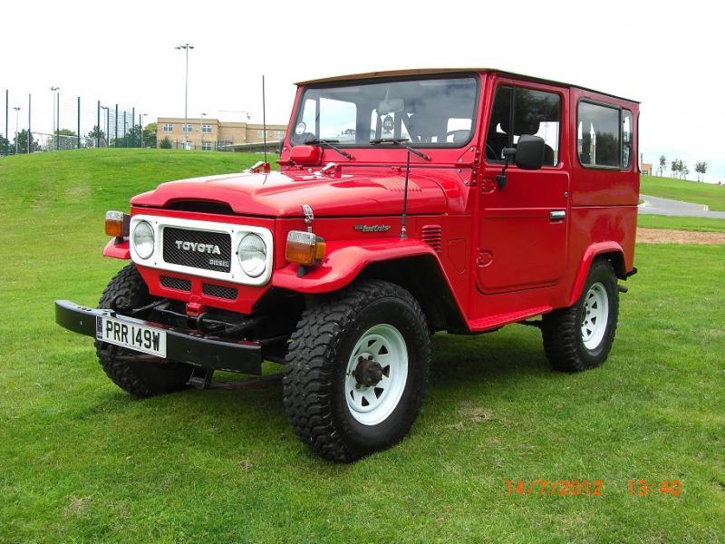 For Sale Toyota Landcruiser Bj40 Lhd 1980 3 0 Diesel