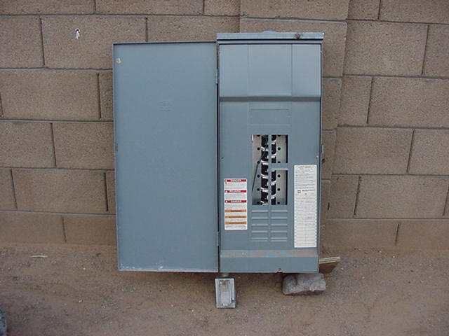 square d 200 amp outdoor electrical panel used ih8mud