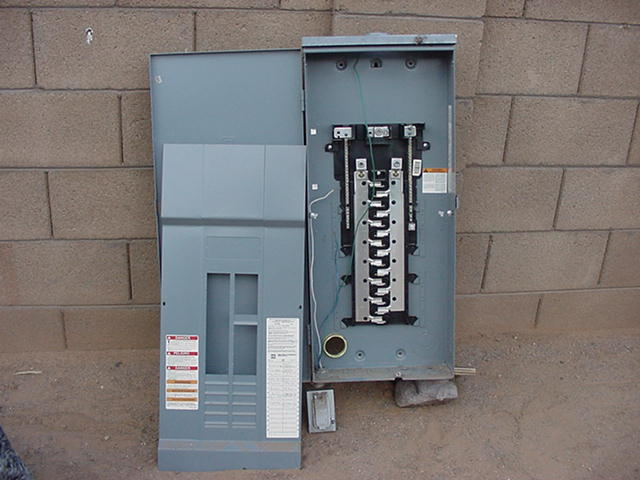 Why is my house electrical panel on the outside? - Home Forums