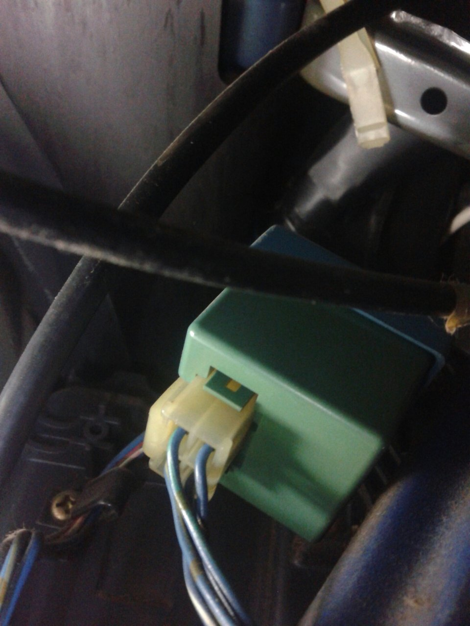 Mystery Box Above the steering column.jpeg