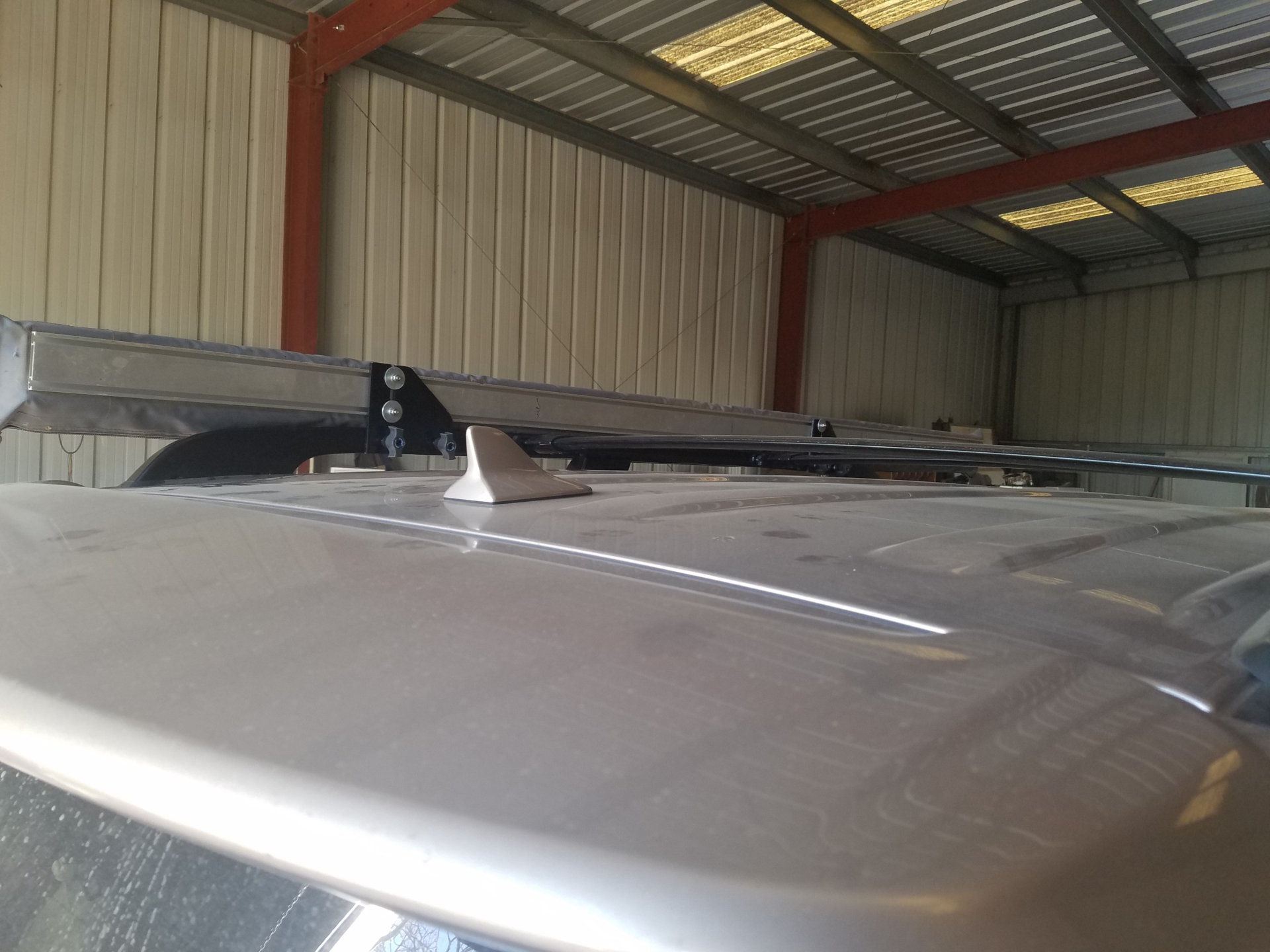 Anyone Mount Arb 2500 Awning To Stock Roof Rack Page 3