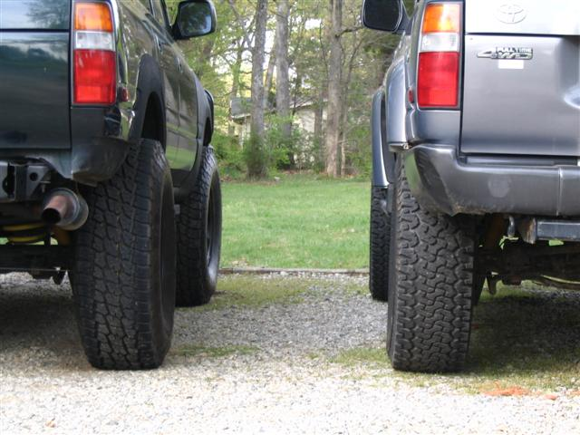 """North Bay Cadillac >> Nitto Terra Grapplers 295/75R16 with OME 2.5"""" ... pics ..."""